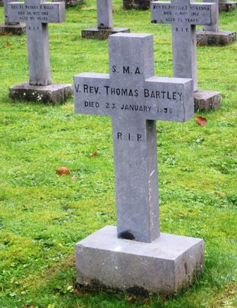Headstone Fr Tom Bartley