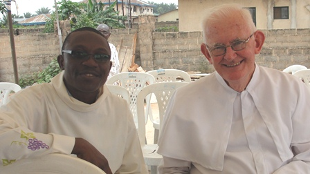fr reginald nwachukwu and tim cullinane