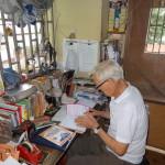 John O'Hea in his Oke Ado office 2