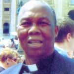 Msgr Joseph Omesa in Rome 2014