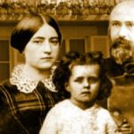 w.Sts. Louis and Zelie Martin with St.Therese