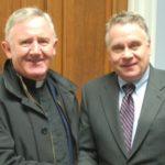 w.Fr Padraig with Congressman Chris Smith