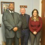 w.Fr Patrick Devine SMA with Greg Simpkins and Mary McDermott Noonan, CoS Congressman Chris Smith