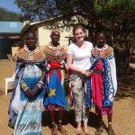 Mary Ellen Doyle at a Shalom workshop at Wamba, Kenya