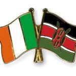 100 years – Kenya and Irish flags