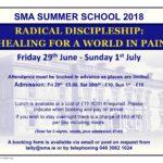 SMA Summer School advert 2018
