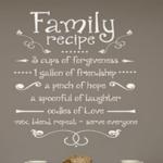 Family Recipie