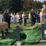 Fr Michael McCabe SMA, confreres, family and friends, lay Fr. Cornelius O'Leary SMA to rest