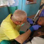 Dr. Francesco at work in Togo