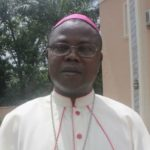 Ernest Obodo, the auxilary bishop of the Enugu Diocese (Patrick Egwu) a