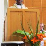 HE Archbishop Jude Thaddeus Okolo, Apostolic Nuncio to Ireland, preaching during the Opening Mass (1)