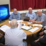 Joe Egan making a point in his Discussion Group (1)
