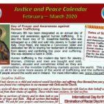 Justice Calendar FebMar20