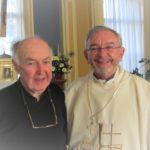 Fr John Clancy and Archbishop Kieran O'Reilly SMA