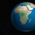 Africa_from_space This image has been originally created as an illustration to Africa Quiz on globalquiz.org and shared under the CC-BY 3.0 license