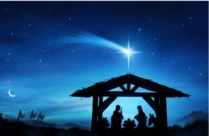 Purchased from Shutterstock Standard License - Limited usage in print, advertising, and packaging. Unlimited web distribution. https://www.shutterstock.com/image-illustration/nativity-scene-holy-family-stable-contains-765246166
