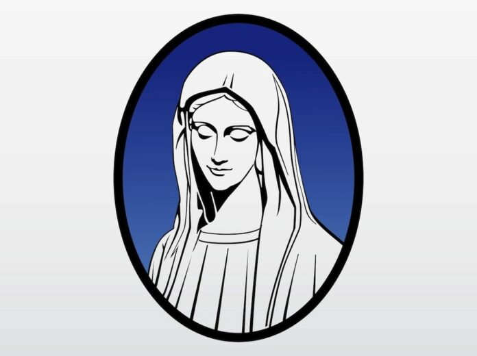 Pixy.org Blessed Virgin, Holy Mary, drawing free image