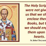 Scriptures_John Chrysostom