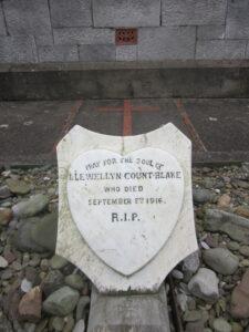 Headstone of Llewellyn Count Blake